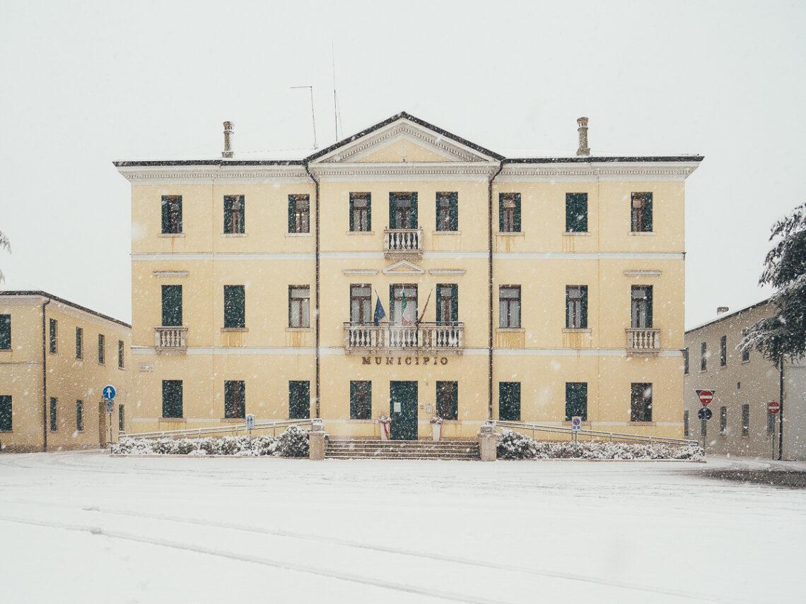 Neve a Volpago